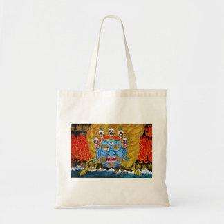 クールな東洋のチベットのthangkaの鬼の入れ墨の芸術 トートバッグ