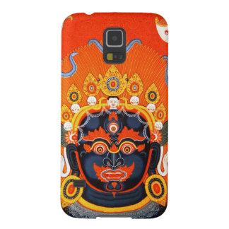 クールな東洋のチベットのthangkaのBhairavaの入れ墨の芸術 Galaxy S5 ケース