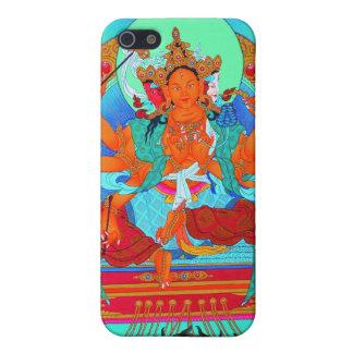 クールな東洋のチベットのthangka Mariciも iPhone 5 カバー