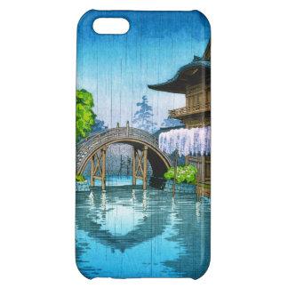 クールな東洋の日本のkoitsuのkameidoの神社湖 iPhone 5C case