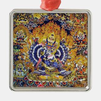 クールな東洋のtangkaのYamantakaの死の神の入れ墨 メタルオーナメント