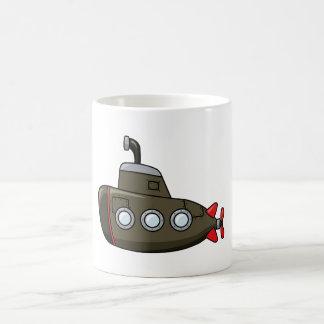 クールな漫画の潜水艦 コーヒーマグカップ