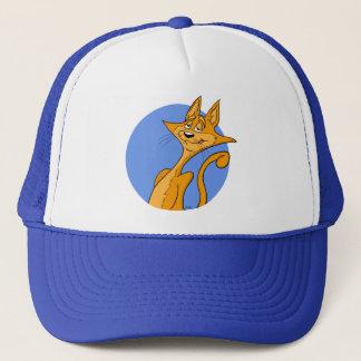 クールな漫画猫の帽子 キャップ