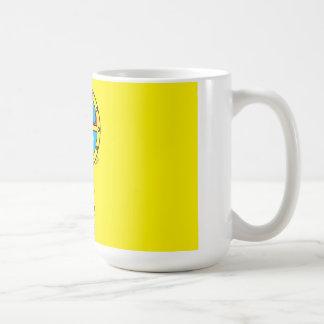 クールな潜水艦および海洋動物(中) コーヒーマグカップ