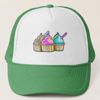 クールな牛アイスクリーム キャップ