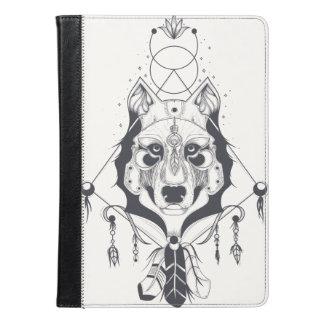 クールな犬のデザインの芸術 iPad AIRケース