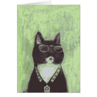 クールな猫 カード