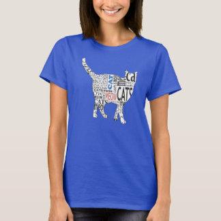 クールな猫 Tシャツ