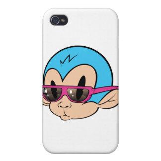 クールな猿 iPhone 4/4Sケース