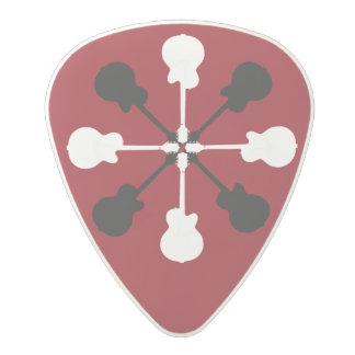クールな石のギターの一突き ポリカーボネートギターピック