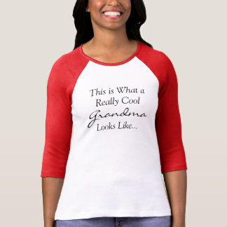 クールな祖母のワイシャツ Tシャツ