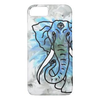 クールな象の例 iPhone 7ケース