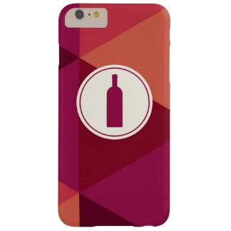 クールな赤ワイン幾何学的なパターン BARELY THERE iPhone 6 PLUS ケース