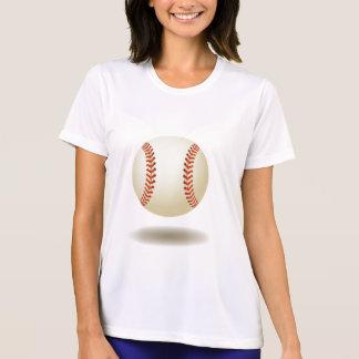 クールな野球の紋章 Tシャツ