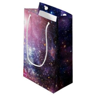 クールな銀河系の星雲 スモールペーパーバッグ