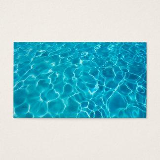 クールな青海原の写真の名刺のテンプレート 名刺