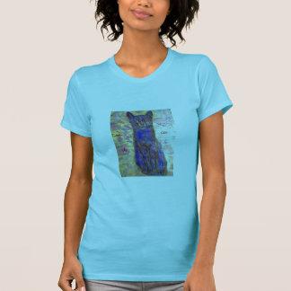 クールな青猫 Tシャツ