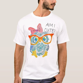 クールな顔 Tシャツ
