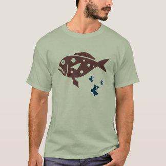 クールな魚のTシャツ Tシャツ