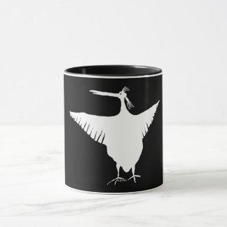 クールな鳥 マグカップ
