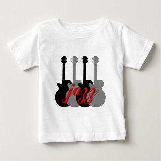 クールな、情報通のジャズ ベビーTシャツ