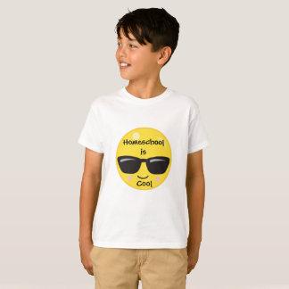 クールなEmoji Homeschool Tシャツ