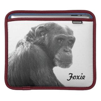 クールなFoxieのチンパンジーのiPadの袖 iPadスリーブ