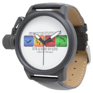 クールなSkydivingそれは生き方です 腕時計