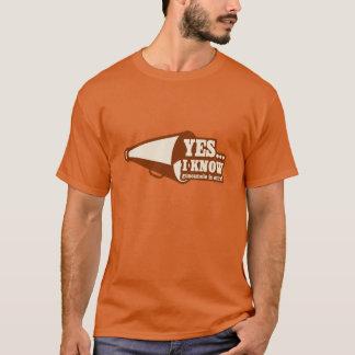 グアカモーレが余分であることをYes Iは知っています Tシャツ