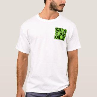 グアカモーレ、アボカドのすくい Tシャツ