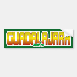 グアダラハラのバンパー バンパーステッカー