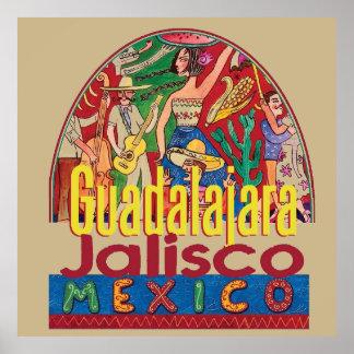 グアダラハラメキシコ ポスター
