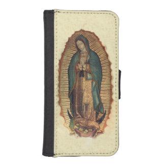 グアダルペのヴァージン、私達の女性 iPhoneSE/5/5sウォレットケース