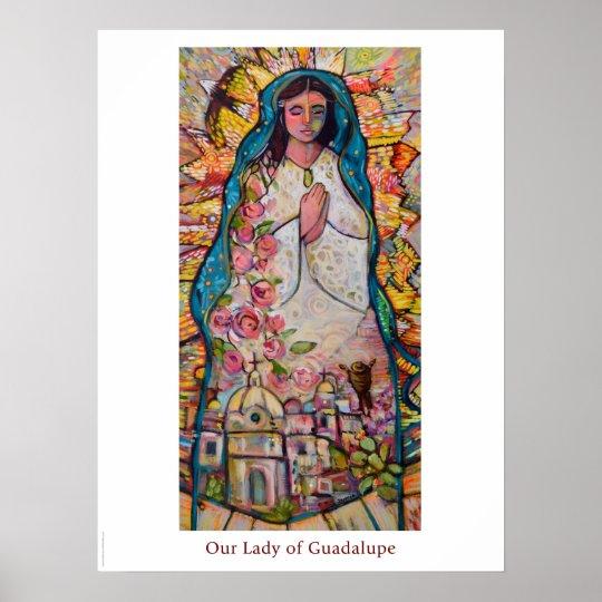 グアダルペの教室ポスターの私達の女性 ポスター