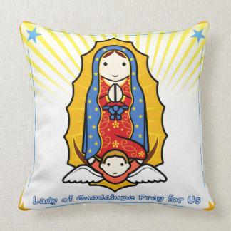 グアダルペの枕の女性 クッション