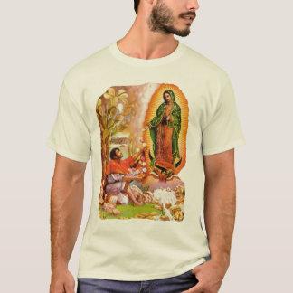 グアダルペの私達の女性及び聖者ファンディエゴ Tシャツ