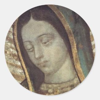 グアダルペの私達の女性 ラウンドシール