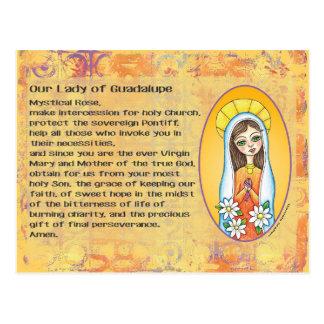 グアダルペの郵便はがきの私達の女性 ポストカード