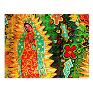グアダルペメキシコの私達の女性 ポストカード