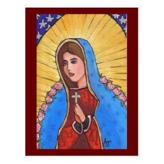 グアダルペ-郵便はがきの私達の女性 ポストカード