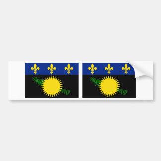 グアダループの旗 バンパーステッカー
