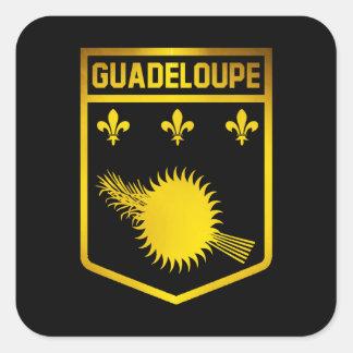 グアダループの紋章 スクエアシール