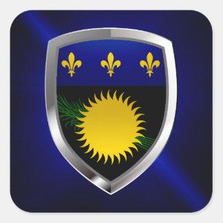 グアダループMettalicの紋章 スクエアシール