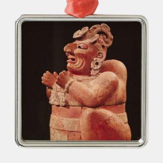 グアテマラからの人間の形をしたcenser、 メタルオーナメント