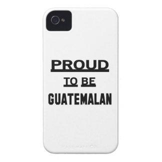グアテマラがあること誇りを持った Case-Mate iPhone 4 ケース