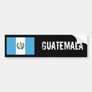 グアテマラの旗のバンパー バンパーステッカー