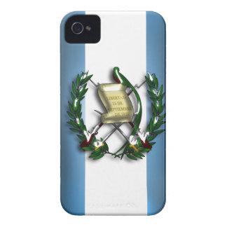グアテマラの旗のIphone 4/4Sの穹窖の箱 Case-Mate iPhone 4 ケース