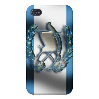 グアテマラの旗のIphone 4/4S Speckの場合 iPhone 4/4Sケース