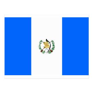 グアテマラの旗 ポストカード