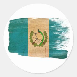 グアテマラの旗 ラウンドシール